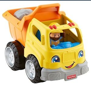 Fisher-Price Little People Dump Truck construction
